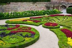 Palais de la Berbie Gardens at Albi, Tarn, France. ALBI, FRANCE - AUGUST 09: Palais de la Berbie Gardens at Albi, Tarn, France on August 09, 2014. Beautiful Stock Photo