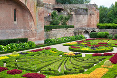 Palais de la Berbie Gardens at Albi, Tarn, France Stock Photos