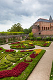 Palais de la Berbie Gardens at Albi, Tarn, France Stock Photo