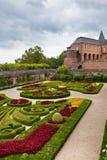 Palais de la Berbie Gardens at Albi, Tarn, France Stock Photo