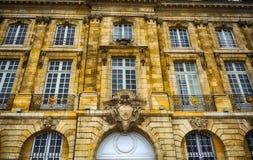 Palais de la a Bolsa, Bordéus, França Fotografia de Stock Royalty Free