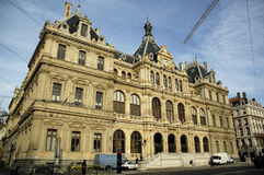 Palais de la Bourse Stock Photo