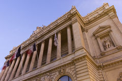 Palais de la Bourse in Marseilles, France Stock Image