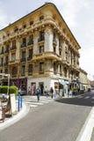 Palais de la Buffa in Nice at rue de France Royalty Free Stock Images