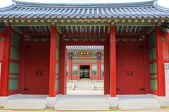 Palais de la Corée Deoksugung Images stock