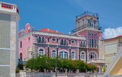 Palais de la fontaine D&#x27 ; EL Rei à Lisbonne Photographie stock libre de droits