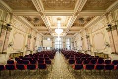Palais de la salle de présentation du Parlement image stock