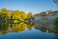 Palais de Lazienki, Varsovie, Pologne Photos stock