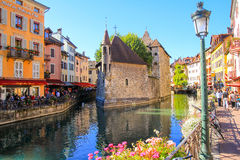 Palais de lilse, Annecy, France Royalty Free Stock Image