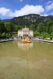Palais de Linderhof, Allemagne Photo stock