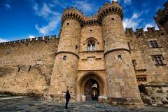 Palais de maître grand de chevaliers photos libres de droits