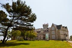 Palais de Magdalena à Santander, Cantabria Photo libre de droits
