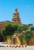 Palais de Mandir dans Jaisalmer, Inde du nord Photo libre de droits