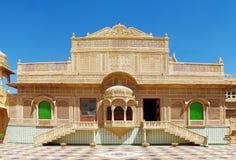 Palais de Mandir dans Jaisalmer, Inde du nord Image libre de droits
