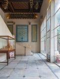 Palais de Manial de prince Mohammed Ali Entrée de résidence de la mère du ` s de prince décorée des carreaux de céramique turcs,  photos libres de droits