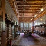 Palais de Manial de prince Mohammed Ali Salle à manger au bâtiment de résidence, le Caire, Egypte photo stock