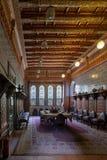 Palais de Manial de prince Mohammed Ali Salle à manger au bâtiment de résidence, le Caire, Egypte photographie stock
