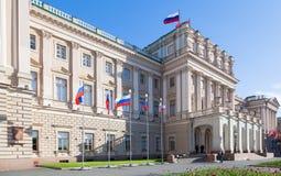 Palais de Mariinsky Images stock