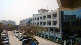 Palais de mer d'hôtel photographie stock libre de droits