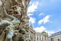Palais de Michaelertrakt, Hofburg à Vienne, Autriche photo libre de droits