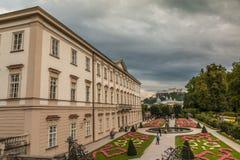 Palais de Mirabell à Salzbourg Autriche photographie stock libre de droits