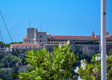 Palais De Monaco Lizenzfreie Stockfotografie