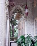 Palais de Monseratte de détail d'architecture dans Sintra Lisbonne Portug photographie stock libre de droits