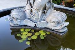 Palais de Monserrate dans la fontaine de Sintra Triton Photo stock