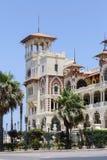 Palais de Montaza à l'Alexandrie, Egypte Photographie stock libre de droits