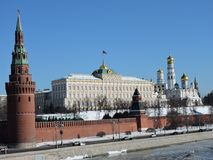 Palais de Moscou Kremlin photographie stock libre de droits