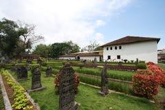 Palais de Nayaka avec le jardin photos libres de droits