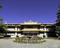 Palais de Norbulingka au Thibet Photographie stock