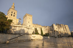 Palais de Pape, Avignon Stock Photography