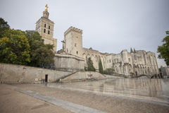 Palais de Pape, Avignon Royalty Free Stock Photos