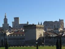 Palais de papes, Avignon, Francia Imagen de archivo