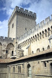 Palais de papes Royalty Free Stock Images
