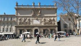 Palais DE Papes vierkant Stock Foto