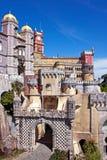 Palais de Pena dans Sintra Images libres de droits