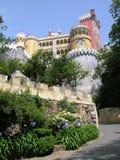 Palais de Pena dans Sintra, Portugal Images libres de droits