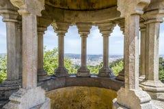 Palais de Pena, sintra Portugal Images stock