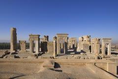 Palais de Persepolis - d'Apadana Photos stock