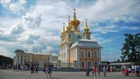 Palais de Peterhof photographie stock