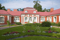 Palais de Peterhof, St Petersbourg, Russie Image stock