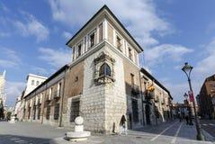 Palais de Pimentel, Valladolid Espagne images libres de droits