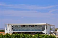 Palais de Planalto à Brasilia Photos libres de droits