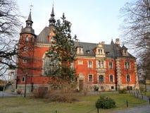Palais de Plawniowice, Pologne Image libre de droits