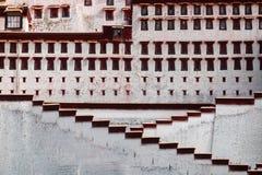 Palais de Potala à Lhasa Image libre de droits