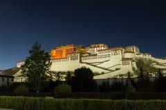 Palais de Potala à Lhasa Photos libres de droits