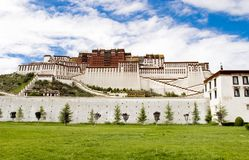 Palais de Potala (à Lhasa, au Thibet) Image stock