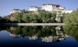 Palais de Potala Images libres de droits